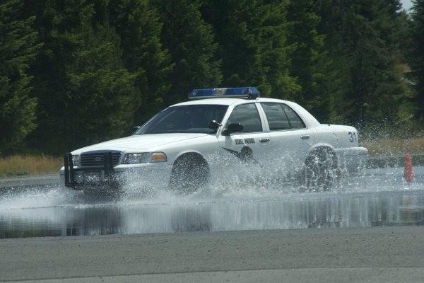 WA State Patrol Protective Driving Course, Shelton, WA.