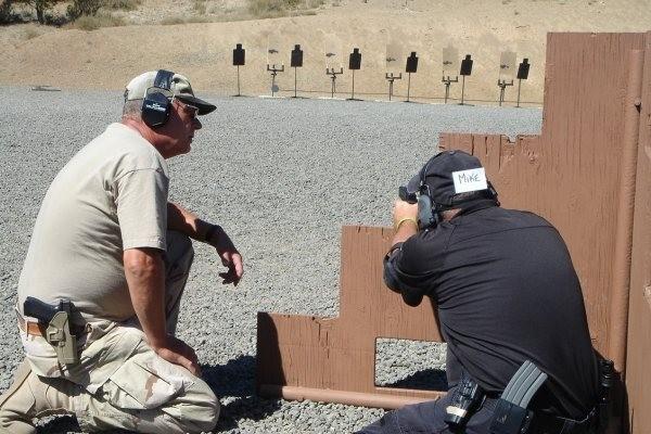 Barricade Shooting - Handgun